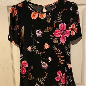 Express flower blouse
